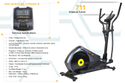 Heavy Duty Elliptical Cross Trainer 711