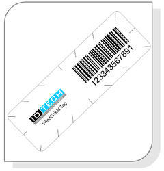 White RFID Tamper Proof Windshield Tag, Packaging Type: Packet
