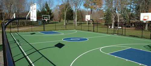 Basketball Court Construction Service