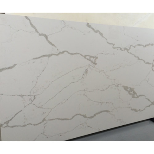 Polar Quartz Stone Slab क व र टस