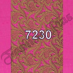 Fancy Gold Lace Fabric for Garments