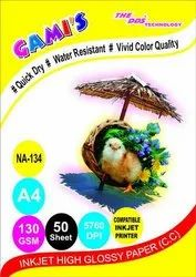 GAMI'S 130gsm A3 Glossy Inkjet Photo Paper
