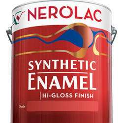 High Gloss Nerolac synthetic enamel, Packaging Type: Tin