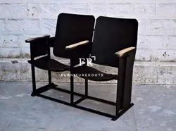 Outdoor Bench in Modern Industrial Style for Restaurants, Bars,Pubs, Clubs,Hotels & Resorts