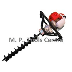 Ice n Soil Auger Digger Drill - Landscaping, Gardening, Pole
