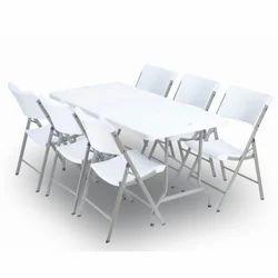 Wonderplast Dinning Room Folding Table Set