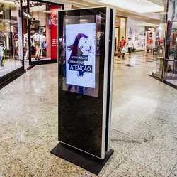 Aluminum Digital Vertical Standee, For Advertising