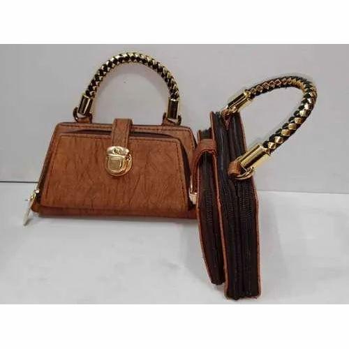 91cbff6b3af7 Rexine Ladies Designer Bag