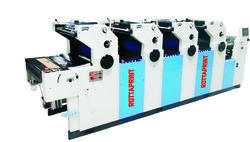 Four Color Non Woven Offset Printing Machine