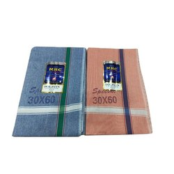 MRC Stripped Casual Wear Cotton Gamcha, 250-350 GSM, Size: 30 X 60 Inch