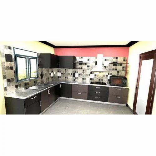 Modular Kitchen Set At Rs 3600 Running Feet L Shape Modular