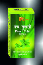 Panch Tulsi Drops, Packaging Type: Plastic Bottle, 20 Ml
