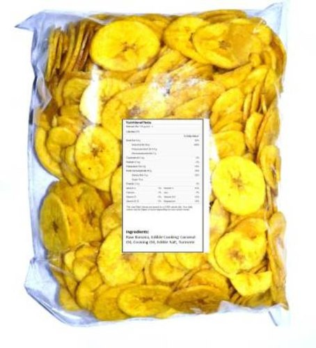 Veg E Wagon Banana Chips - Gold Coin 1000 Chips (1 kg ...