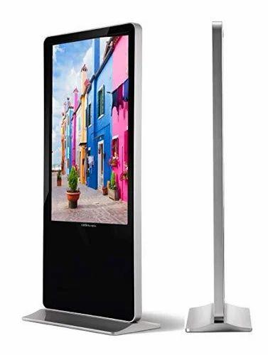 Digital Standee - Rectangle Digital Display Signage Manufacturer
