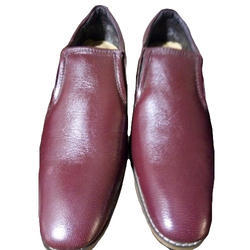 Shubham Leather Mens Slip On Casual Shoes