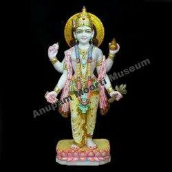 Dhanvantari Marble Statue