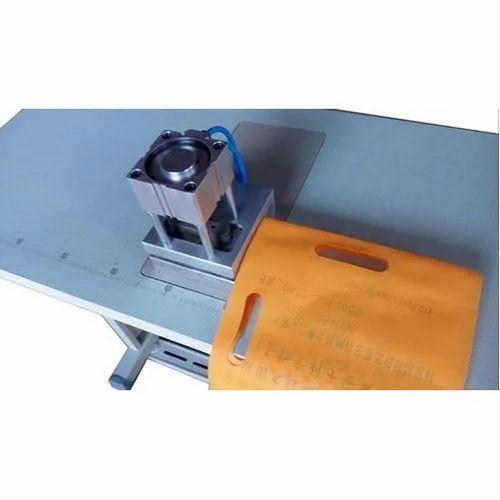 Non Woven Bag D Cut Punching Machine