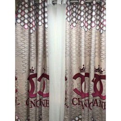 Printed Cotton Curtain, for Window
