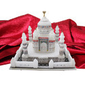 White Marble Beautiful Taj Mahal Model