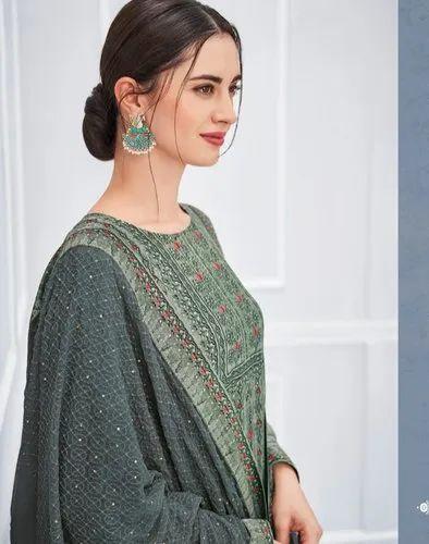 Semi Stitch Formal Wear Designer Salwar Suit Heer Vol 42 By Kimora Salwar Suit 9018