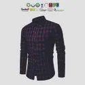 Eco Cotton Mens Checked Shirts