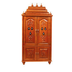 Wooden Temple Room Cabinet