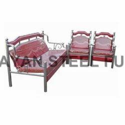 Stainless Steel Sofa Set In Surat स ट नल स स ट ल