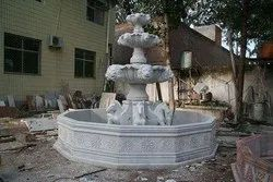 Stone Three Tier Fountain