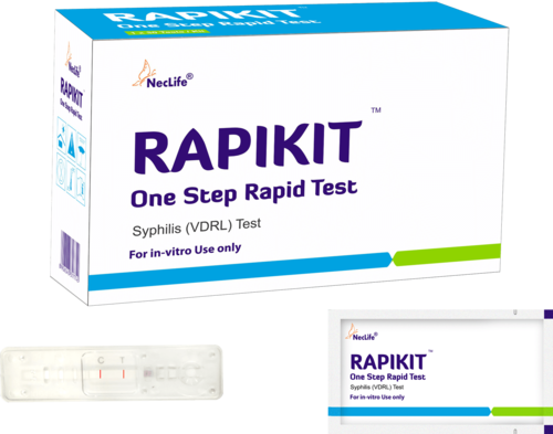 Plastic Syphilis Rapid Test, for Clinical, Vdrl