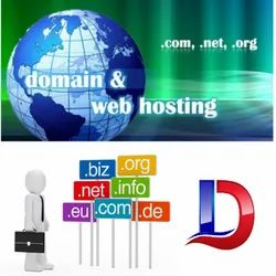 English Domain Name & Hosting Service, in Pan India, Installation Provided: Free