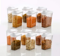 750ml Cereal Dispenser Easy Flow Storage Jar Storage Containers for Kitchen, Idle for Kitchen