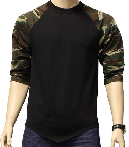 Finger s Men s Camo Flag Army Tee Black   Camo T-Shirt at Rs 250 ... 4df66e3366fb