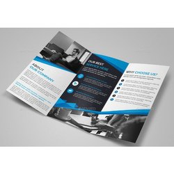 Paper Advertising Brochure, Size: A4