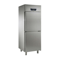 2 Door SS Vertical Freezer