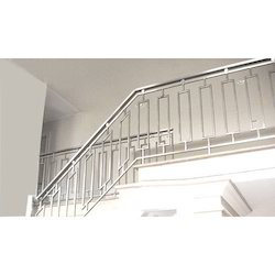 Steel Railing, for Pharmaceutical / Chemical Industry