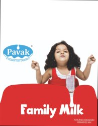 Pasteurized Family Milk, Packaging Type: Packet