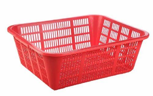 Plastic Kitchen Basket, Size: 533 X 410 X 185 Mm | ID