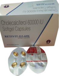 Cholecalciferol 60000 I U Capsules
