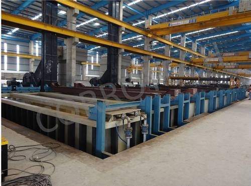 Pole Galvanizing Plant