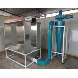 Cross Flow Type Powder Coating Booth