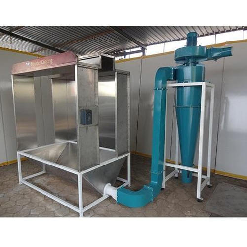 Factory Price Powder Coating Stainless Steel Kitchen: Stainless Steel Filter Powder Coating Booth, Rs 150000