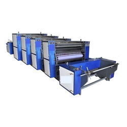 Roll To Roll Non Woven Paper Printing Machine