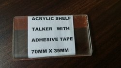Acrylic Shelf Talker