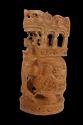 Wooden Elephant With Ambadi Big