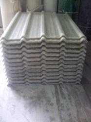FRP Transcluent Corrugated Sheet