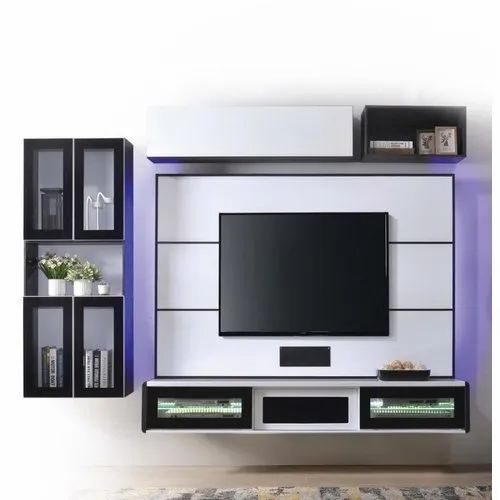 Wall Mounted Set Top Box Stand Storage Cabinet Tv Unit For Home Rs 1100 Square Feet Id 22144664888