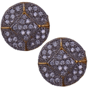 Mahaveer Pearls New Festive Collections New Sparkling Brass Stud Earring
