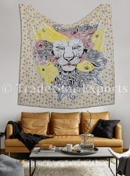 Lion Wall Hanging Tapestry