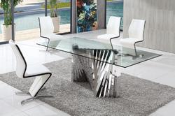 Glass Dining Table Glass Table Amp Chairs Latest Price