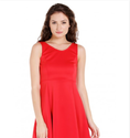 Globus Short Fit And Flare Dress